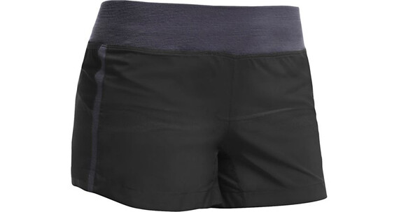 Icebreaker W's Spark Shorts Black/Panther